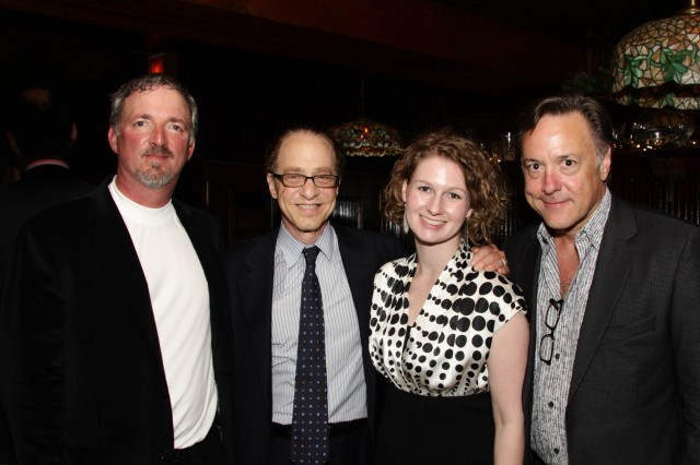 WSA's Founding Principal's Paul Durand and Mark Meche, and Director of Business Development Allison Brooks with famed futurist Ray Kurzweil. *from left: Paul Durand, Ray Kurzweil, Allison Brooks, Mark Meche
